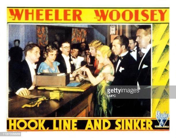 Hook lobbycard LINE AND SINKER Bert Wheeler Dorothy Lee Robert Woolsey [Wheeler and Woolsey] 1930