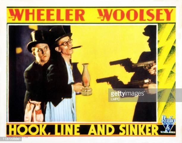 Hook lobbycard LINE AND SINKER Bert Wheeler Robert Woolsey [Wheeler and Woolsey] 1930