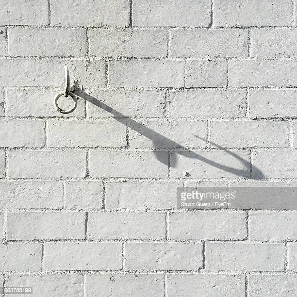 Hook Mounted On White Wall