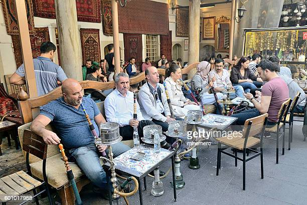 Hookaf cafe in Istanbul