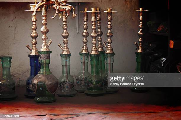 hookahs at factory - hookah stock photos and pictures