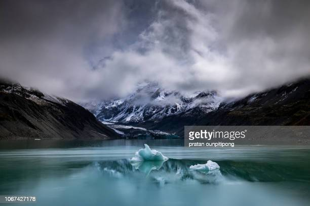 Hooker Lake and iceberg