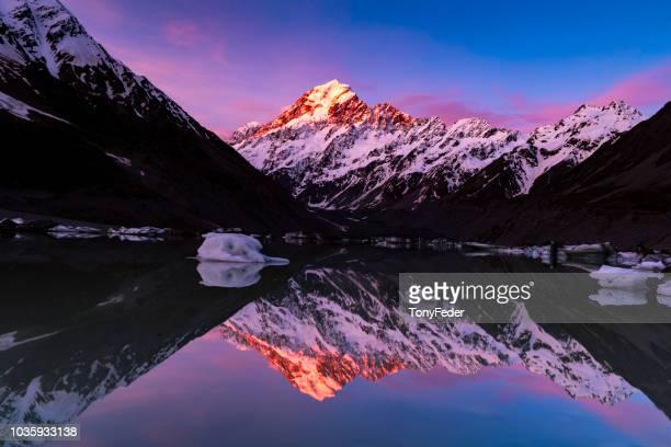 Hooker Lake New Zealand