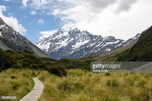 Hooker Valley and Mt Cook