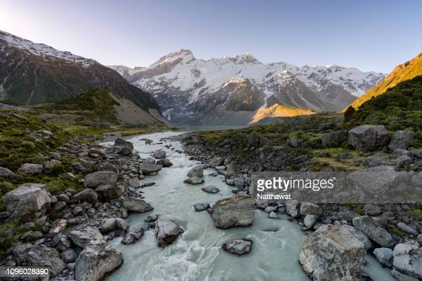 Hooker Valley Track, Mount Cook, New Zealand