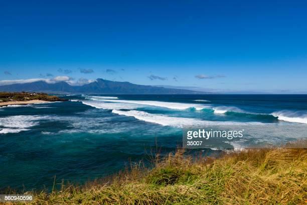 hookipa bay beach, maui island, hawaii islands