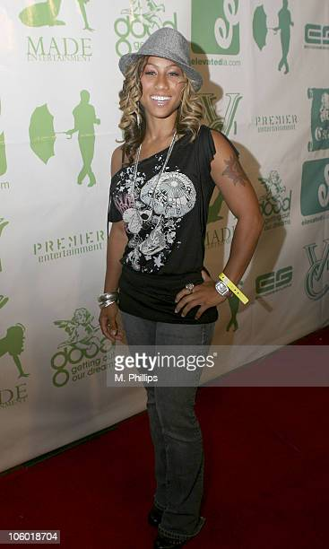 Hoopz during Fonzworth Bentley Party at the Cabana Club in Hollywood August 20 2006 at Cabana Club in Hollywood CA United States