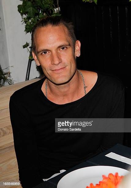 Hoorsenbuhs Cocreator Kether Parker attends Vogue's Triple Threats dinner hosted by Sally Singer and Lisa Love at Goldie's on April 3 2013 in Los...