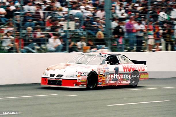 Hooters' car on the track at the Watkins Glen International raceway Watkins Glen New York 1996