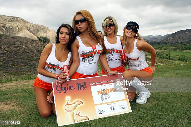Hooters Calendar May : Hooters girls stock photos and pictures getty images