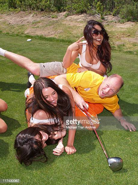 Hooters Girls during TJ Martell Foundation Golf Tournament Hosted by Vince Neil at Los Canyons Golf Club in Simi Valley, California, United States.