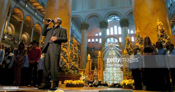 Hootie The Blowfish rehearse for TNT's Christmas in Washington Concert to air Sunday December 14 at 8pm ET/PT live from the National Building Museum...