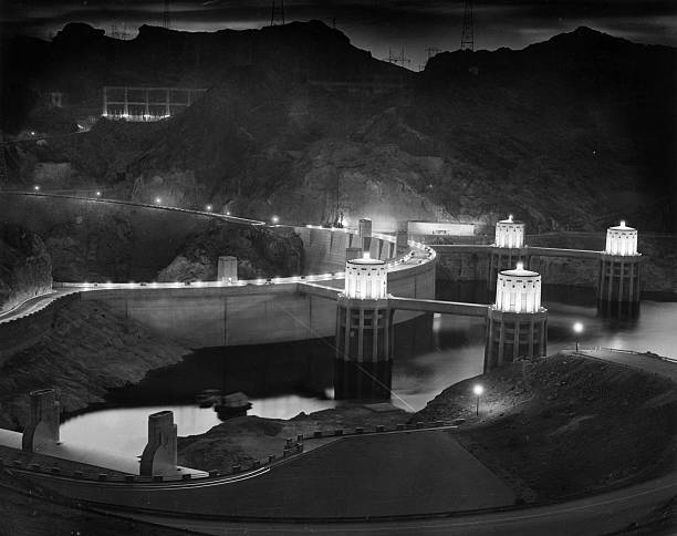 NV: 7th July 1930 - Building Of The Hoover Dam Begins