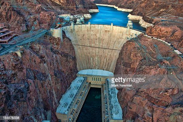 hoover dam - hoover dam stock photos and pictures