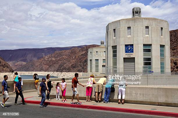 hoover dam - boulder city stock photos and pictures