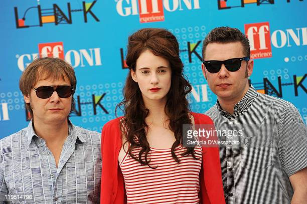 Hooverphonic attend the 2011 Giffoni Experienceon photocall on July 21 2011 in Giffoni Valle Piana Italy