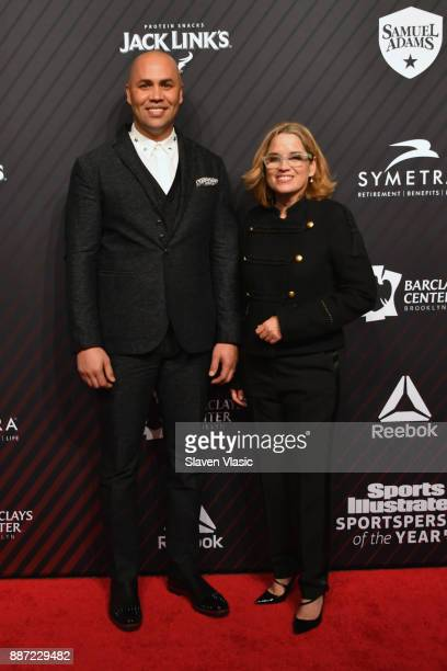 Hope Award Recipient World Series Champion Carlos Beltran and Mayor of San Juan Puerto Rico Carmen Yulin Cruz attend SPORTS ILLUSTRATED 2017...