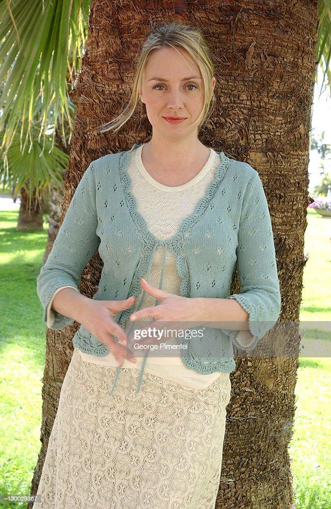 Hope Davis during 2003 Cannes Film Festival - Hope Davis Portraits at Le Grande Hotel in Cannes, France.