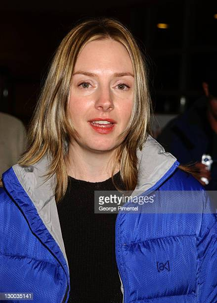 "Hope Davis during 2003 Sundance Film Festival - ""The Secret Lives of Dentists"" - Premiere at Eccles in Park City, Utah, United States."