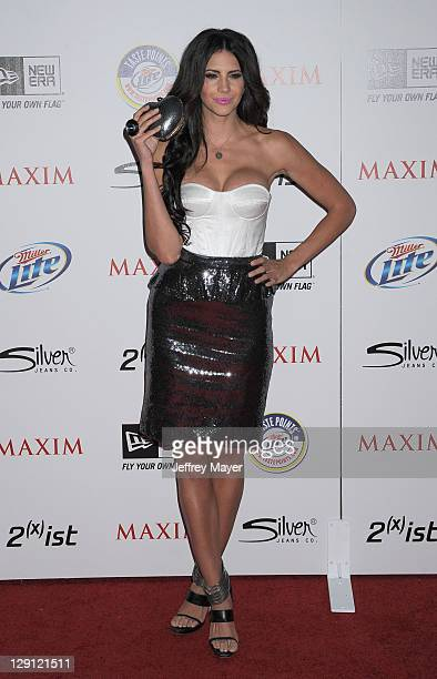 Hope Dworaczyk arrives at Maxim's Hot 100 Party at Eden on May 11 2011 in Hollywood California