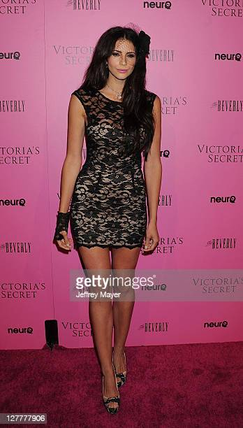 Hope Dworaczyk arrives to the Victoria's Secret 6th Annual What Is Sexy List Bombshell Summer Edition Pink Carpet Event at The Beverly on May 12 2011...