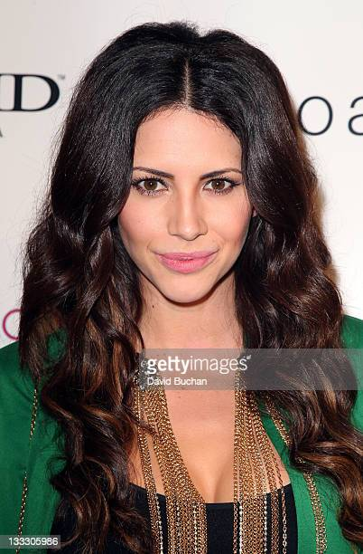 Hope Dworaczyk attends Sloane Tate Innerwear Launch Party at Siren Studios on November 17 2011 in Hollywood California