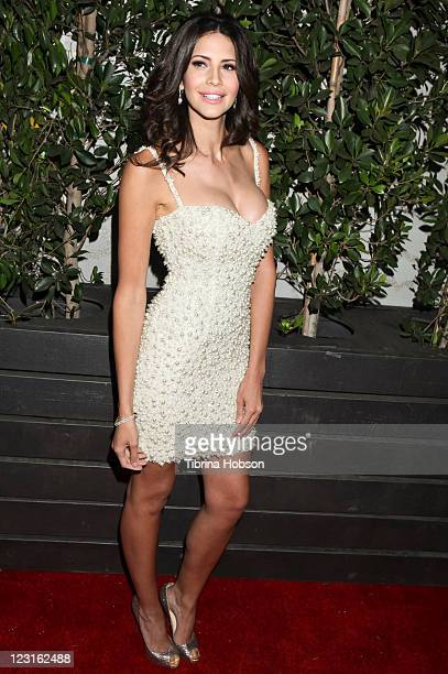 Hope Dworaczyk attends the 1st Annual Diamonds Not Fur Gala to benefit SPCALA at Voyeur on August 27 2011 in West Hollywood California