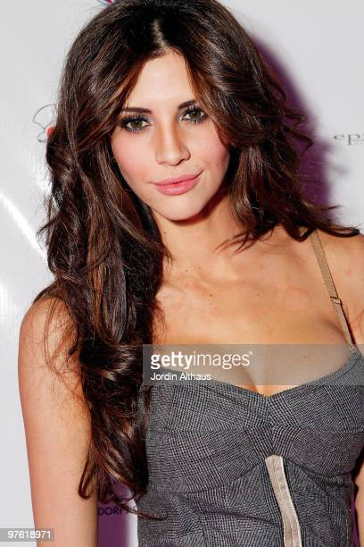 Hope Dworaczyk attends the 6th Annual KSwiss Desert Smash Day 1 at La Quinta Resort and Club on March 9 2010 in La Quinta California