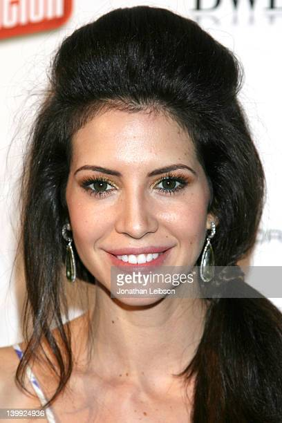 Hope Dworaczyk attends the BWD Oscar Benefit For The Unlikely Heroes Mission Nonprofit Organization at Confidential Beverly Hills on February 25 2012...