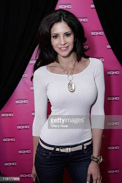 Hope Dworaczyk attends the GBK Gift Lounge In Honor Of The MTV Movie Awards at SLS Hotel on June 3 2011 in Beverly Hills California