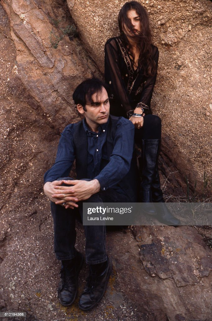 Hope Sandoval and David Roback of Mazzy Star : News Photo
