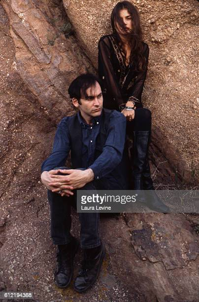 Hope Sandoval and David Roback of Mazzy Star