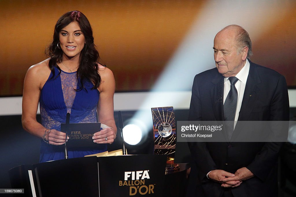 FIFA Ballon d'Or Gala 2012 : News Photo