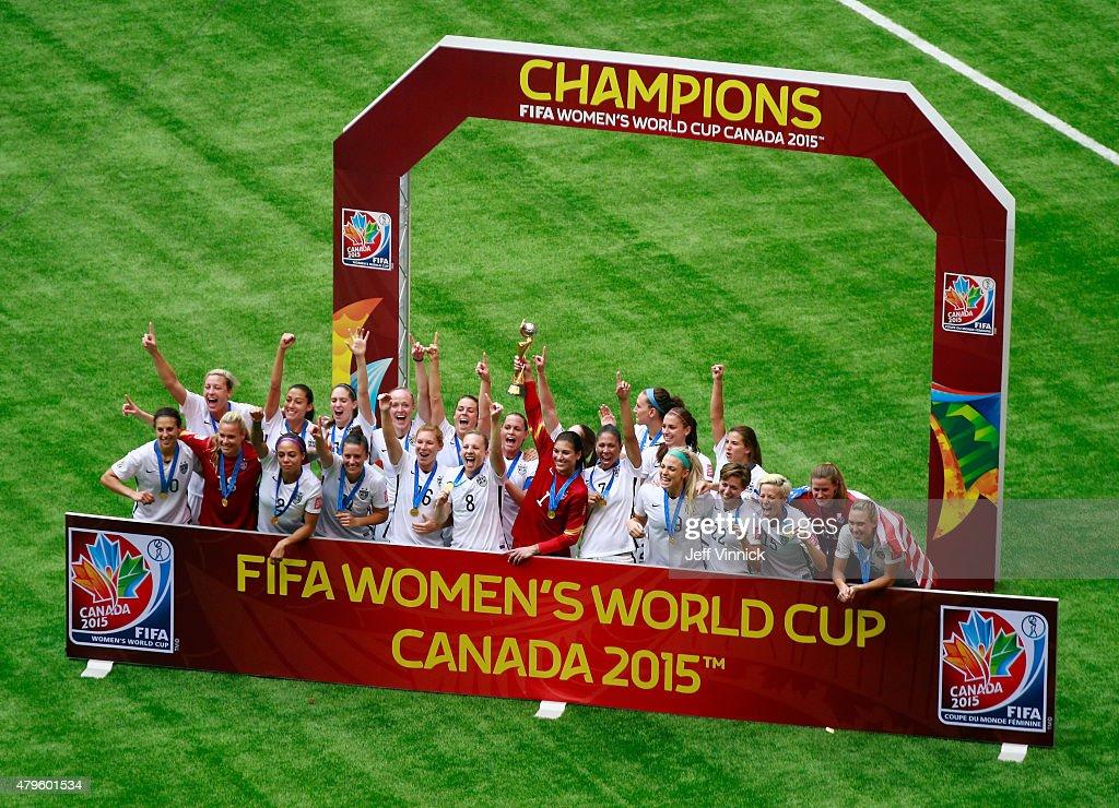 USA v Japan: Final - FIFA Women's World Cup 2015 : Fotografía de noticias
