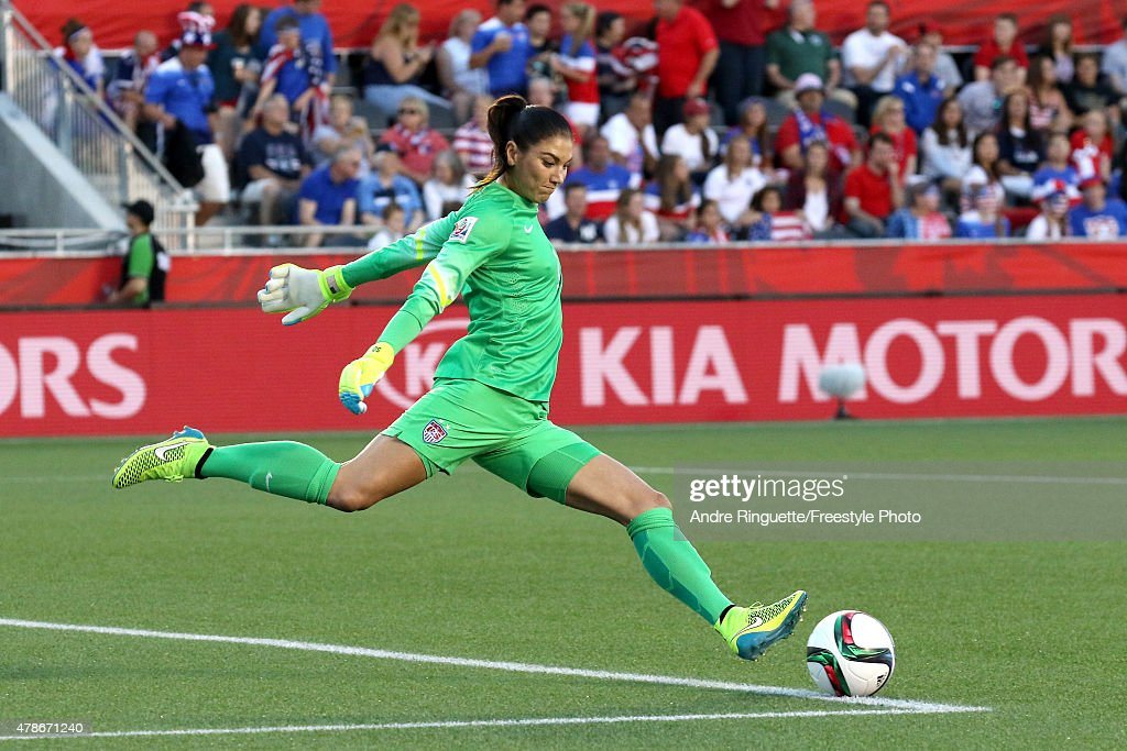 China v United States: Quarter Final - FIFA Women's World Cup 2015 : News Photo