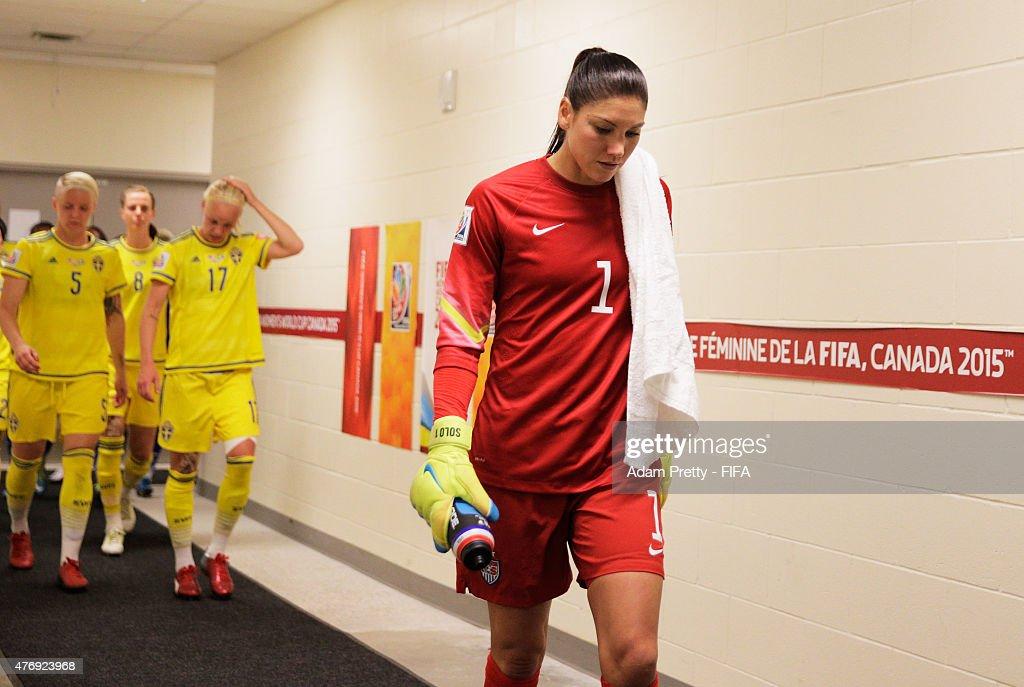 USA v Sweden: Group D - FIFA Women's World Cup 2015 : News Photo
