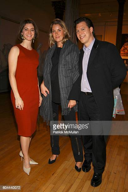 Hope Stevenson, Helena Khazanova and Albert Price attend DITA VON TEESE new book Burlesque and the Art of the Teese by Regan Books party at New York...