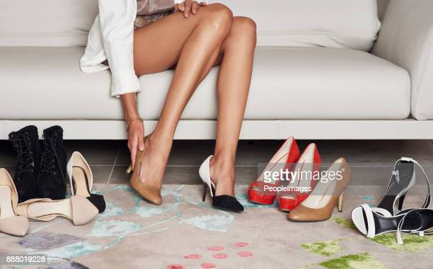 i hope the shoe fits - high heels stock pictures, royalty-free photos & images