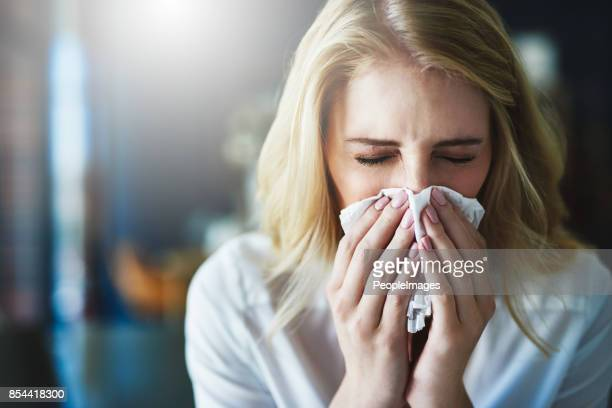 i hope this flu goes away quickly - pneumonia stock pictures, royalty-free photos & images
