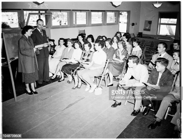 Hope Union Church Rosemead wins grand award in Sunday School Attendance New Auditorium under construction 24 March 1952 Dwight Bissell Department...