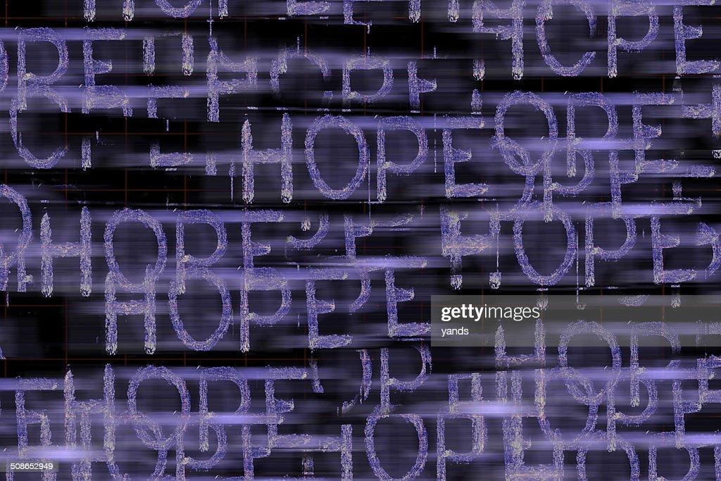 Hope Word : Stock Photo