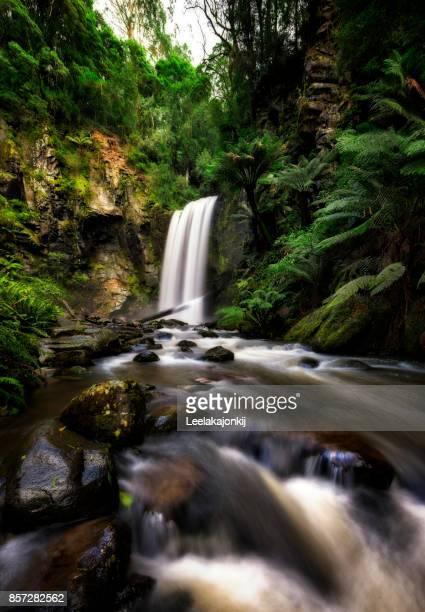Hopetoun Falls in Great Otway National park
