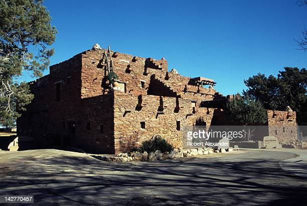 Hopi House on the South Rim of the Grand Canyon was designed by famed architect Mary Colter Since 1905 it has housed concessionaires selling...