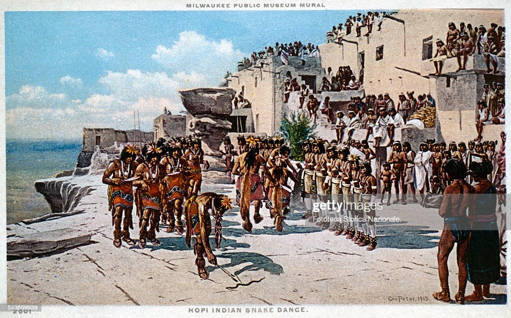 hopi walpi indian snake dance arizona pictures getty images