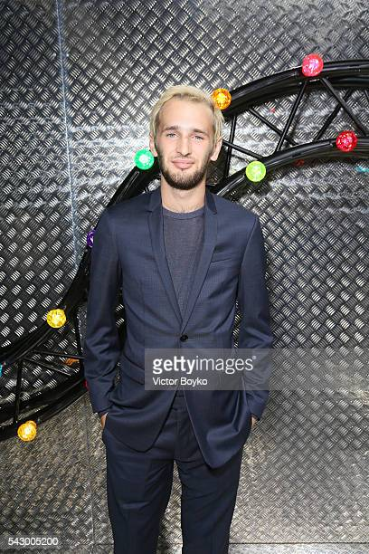 Hopper Jack Penn attends the Dior Homme Menswear Spring/Summer 2017 show as part of Paris Fashion Week on June 25 2016 in Paris France