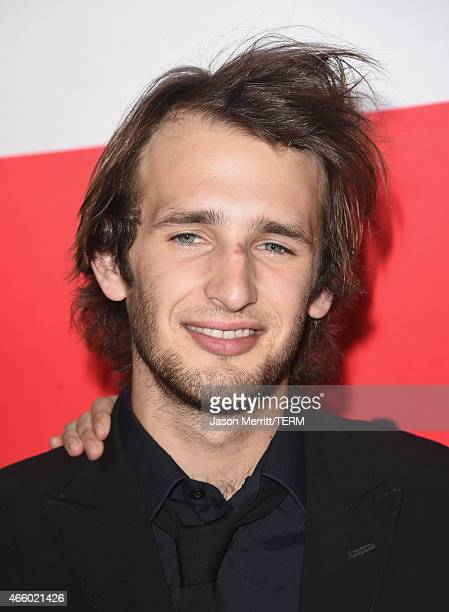 Hopper Penn attends the premiere of Open Road Films' The Gunman at Regal Cinemas LA Live on March 12 2015 in Los Angeles California