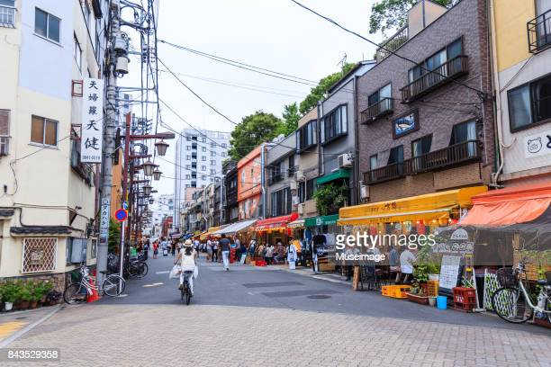 hoppy street in asakusa - retail place stock pictures, royalty-free photos & images