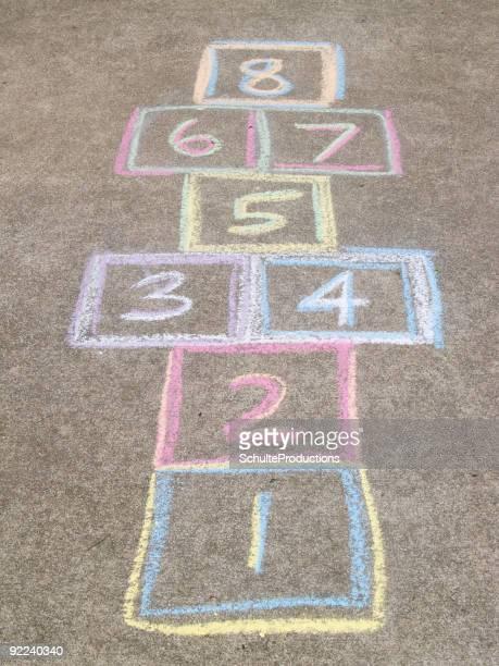 hopscotch board