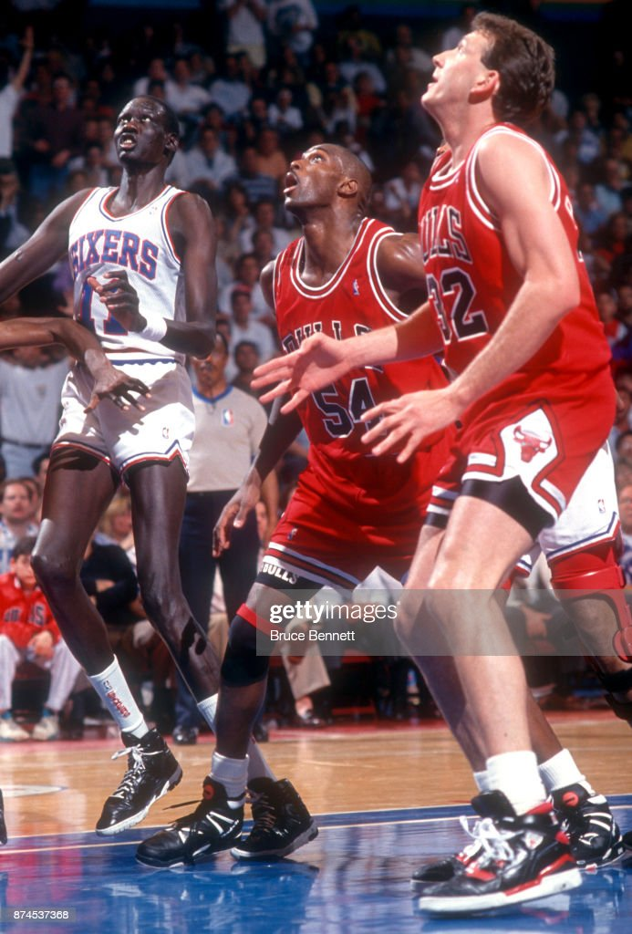 e02be0e6b 1991 Eastern Conference Semifinals  Chicago Bulls v Philadelphia 76ers    News Photo