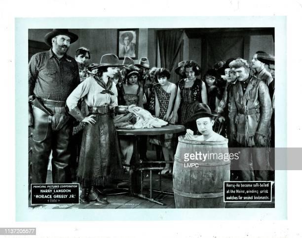 Horace Greeley, lobbycard, Jr, Harry Langdon, 1925.